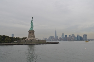We drank in the hope promised by the Statue of Liberty.