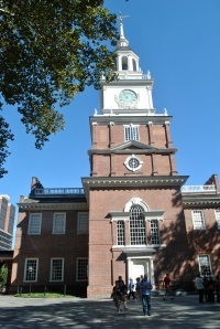 We walk the first halls of power at Independence Hall