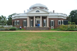 We visited Thomas Jefferson's home at Monticello.