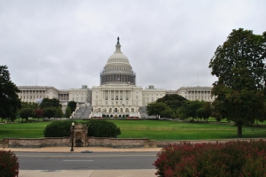 We were guided through the modern halls of power at the US Congress...