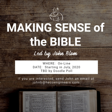 Bible Study Invitation